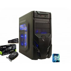 PC GAMER CORE I5 7400, GTX 1050TI, 8GB DE RAM, SSD 120GB + HD 1TB